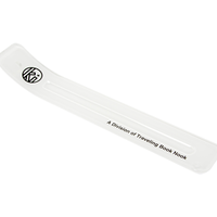 KUUMBA ACRYLIC INCENSE TRAY HOLDER  REGULAR SIZE WHITE