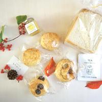 10月30日発送 朝食セット 北海道産小麦天然酵母食パンとスコーンのセット4000円送料込