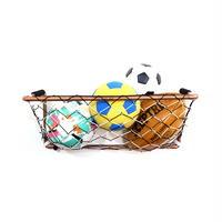 サッカーゴール型ボールバスケット