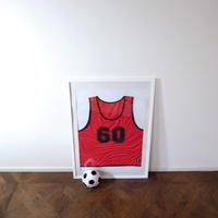 スポーツを愛する人の還暦をさわやかにお祝いするビブス<60th>