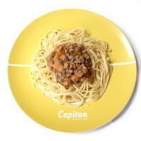 カレーの盛り付けが上手くなる10インチワンプレート皿<子供用>