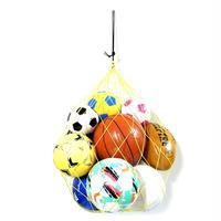 【おしゃれな寄贈品 】カピタン ホペイロ 大容量 ボールネット  10ボール(イエロー×ブラック)