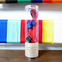 【オーダー商品】色とサイズとパーツも選べるオーダーメイドボールネット<クリアケース入り>
