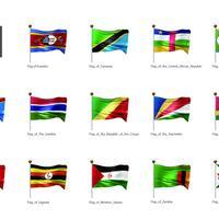 旗(アフリカ)_イラスト4