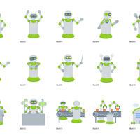 ロボット(イラスト)