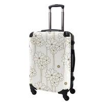 アートスーツケース#CRA03H-040A|ジャパニーズ旅趣 |水仙華(ホワイト抹茶)