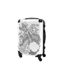 アートスーツケース#CRA03H-J10142|広純 dragon(ホワイト)