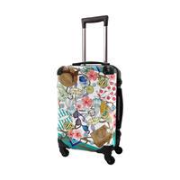 アートスーツケース#CRA01H-J01325|ScoLar|スカラー メルヘンポップ|ターコイズ