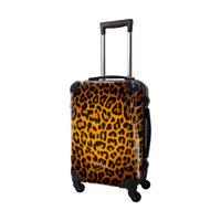 アートスーツケース #CRA01H-003A|ベージック 豹(ゴールド)