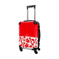 アートスーツケース #CRA01H-006C|ベーシック ピポパ(レッド)