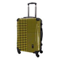アートスーツケース#CRA03H-024D|ベーシック 千鳥格子(イエロー)