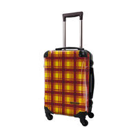 アートスーツケース #CRA01H-023W|ベーシック カラーチェックモダン(イエロー3)