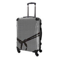 アートスーツケース#CRA03H-024B|ベーシック 千鳥格子(モノトーン2)