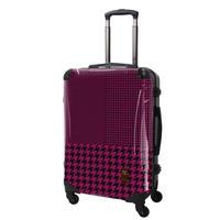 アートスーツケース#CRA03H-024E|ベーシック 千鳥格子(ピンク)