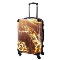 アートスーツケース#CRA03H-J10139|広純 登龍(ゴールド)