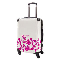 アートスーツケース#CRA03H-006G ベーシック ピポパ(リーフモモ)