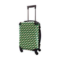 アートスーツケース #CRA01H-021E|ベーシック カウボーイタータン(グリーン)