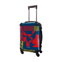 アートスーツケース #CRA01H-016A|ポップニズム ノベル(ブルー×レッド×ネーブルスイエロー)