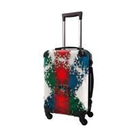 アートスーツケース #CRA01H-032A|ポップニズム  クロスジャック(レッド×グリーン×ブルー)