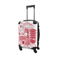 アートスーツケース #CRA01H-045E|ポップニズム シティJAPANESE TOWN1