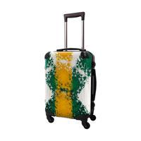 アートスーツケース #CRA01H-032D|ポップニズム  クロスジャック(イエロー×グルーン)