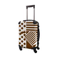 アートスーツケース #CRA01H-012E|プロフィトロール ポポ(ブラウン)