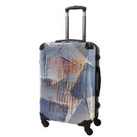 アートスーツケース#CRA03H-025E ポップニズム デニム(コラージュブルー3 )