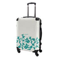 アートスーツケース#CRA03H-006D|ベーシック ピポパ(リーフエメラルド)