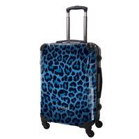 アートスーツケース#CRA03H-003E|ベーシック 豹(ブルー)