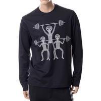 ブラックバレット BLACKBARRETT ロングTシャツ ブラック