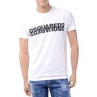 ディースクエアード Dsquared2 ロゴTシャツ コットン ホワイト