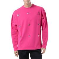 ラフシモンズ RAF SIMONS フレッドぺリー FRED PERRY ロングTシャツ コットンポリエステル ポップピンク