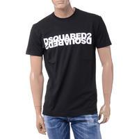 ディースクエアード Dsquared2 ロゴTシャツ コットン ブラック