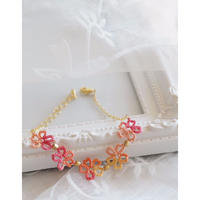 春色MIXレースの桜ブレスレット(ピンクMIX)