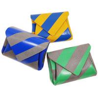 レザーミニウォレットストライプ【Leather Mini Wallet Stripe】