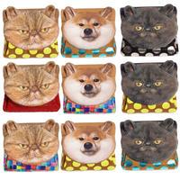 カスタムオーダー!アニマルフェイスミニウォレット【Custom order ! Animal Face  Mini Wallet】