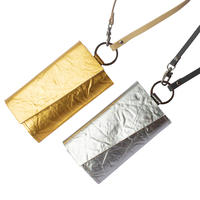 New!キーパスケースメタル ストラップ付き  【Key Passcase Metal  with strap】