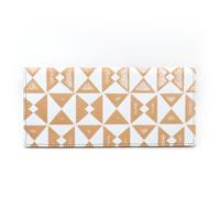 フラットパスポートケース オリガミホワイト【Passport Case(Origami)】