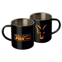 FOX ステンレススチールマグカップ 400ml