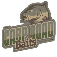 CARPROAD Baits  型抜きステッカー(S)