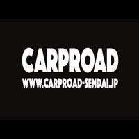 CARPROAD  切り文字ステッカー(ホワイトL)