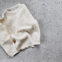 kids★drop shoulder knit tops