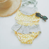 kids★dot frill separate swim  wear