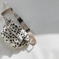 【ladies】Dalmatian Waist pouch