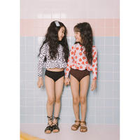 【予約商品】kids★peprum separate swim  wear
