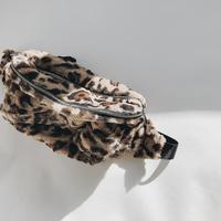 【ladies】leopard Waist pouch