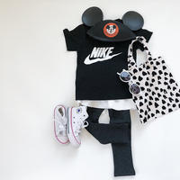 kids ★layered leggings skirt