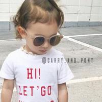 【予約商品】kids★pair simple sunglasses(メガネケース付き)