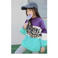 kids★leopard fur  Waist pouch