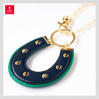 HORSESHOE CHARM 【navy×green】